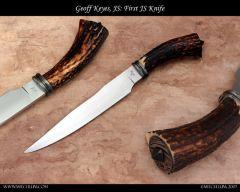 Geoff Keyes Knives, ABS JS