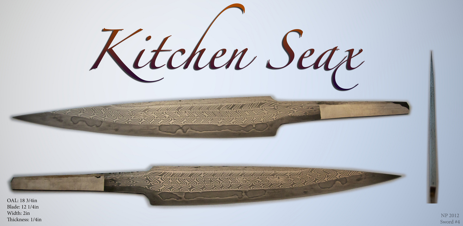 Pattern-Welded Seax