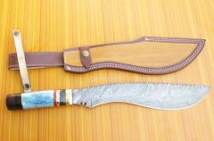 Custom Hand Made Hunting Kukri knives Available For Sale /smkhalid6105@gmail.com