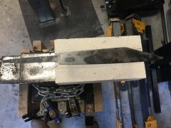 First Blade After Quenching