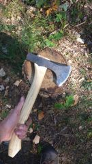 First successful hand-axe
