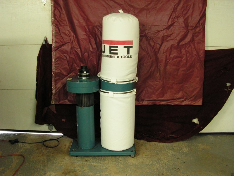 Jet Dc 650 Dust Collector For Sale Tools Supplies And Materials Bladesmith S Forum Board