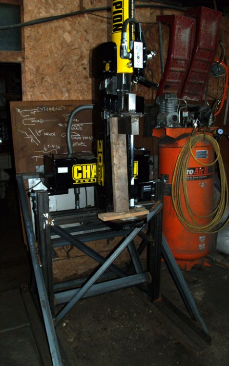Log Splitter to Hydraulic Press - Tools and Tool Making