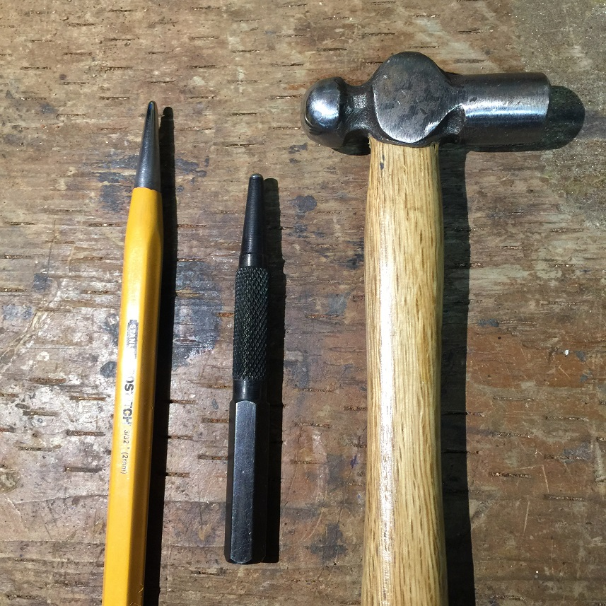 How to dome pins (or at least one way to do it) - Fit and Finish