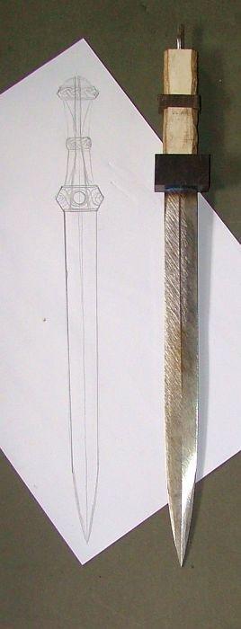 romano-celtic short sword wip 1.jpg