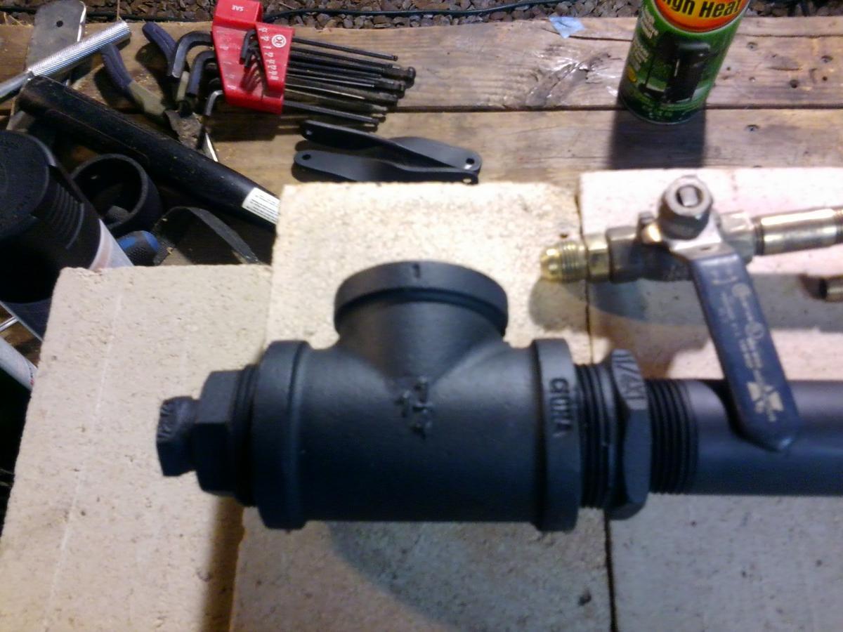 My take on a Venturi Burner - Tools and Tool Making