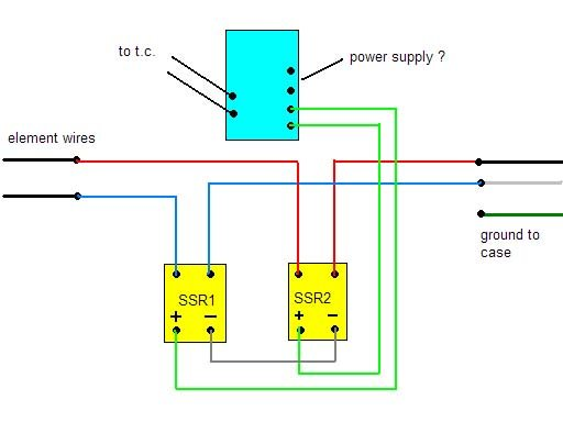 [SCHEMATICS_48EU]  Electric heat treating oven - Tools and Tool Making - Bladesmith's Forum  Board | Oven Wiring Diagram Ssr |  | Bladesmith's Forum