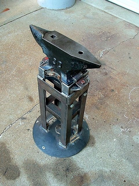 Anvil Stand Show And Tell Bladesmith S Forum Board