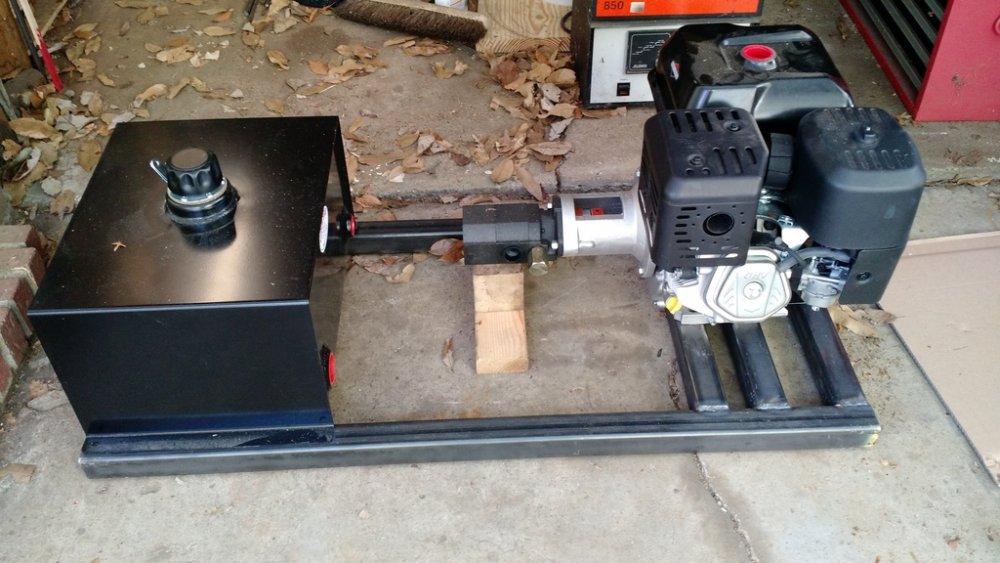 Pump frame welded.JPG