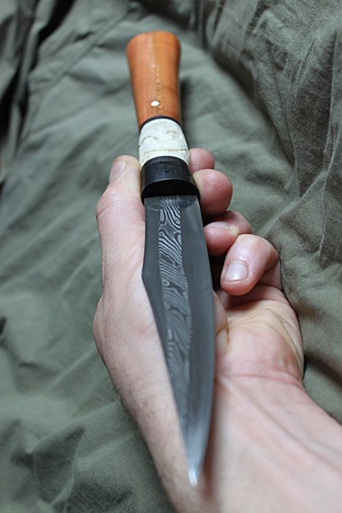 Pattern welded seax 5.JPG