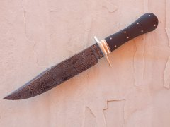 Turkish Bowie with micarta and filework.JPG