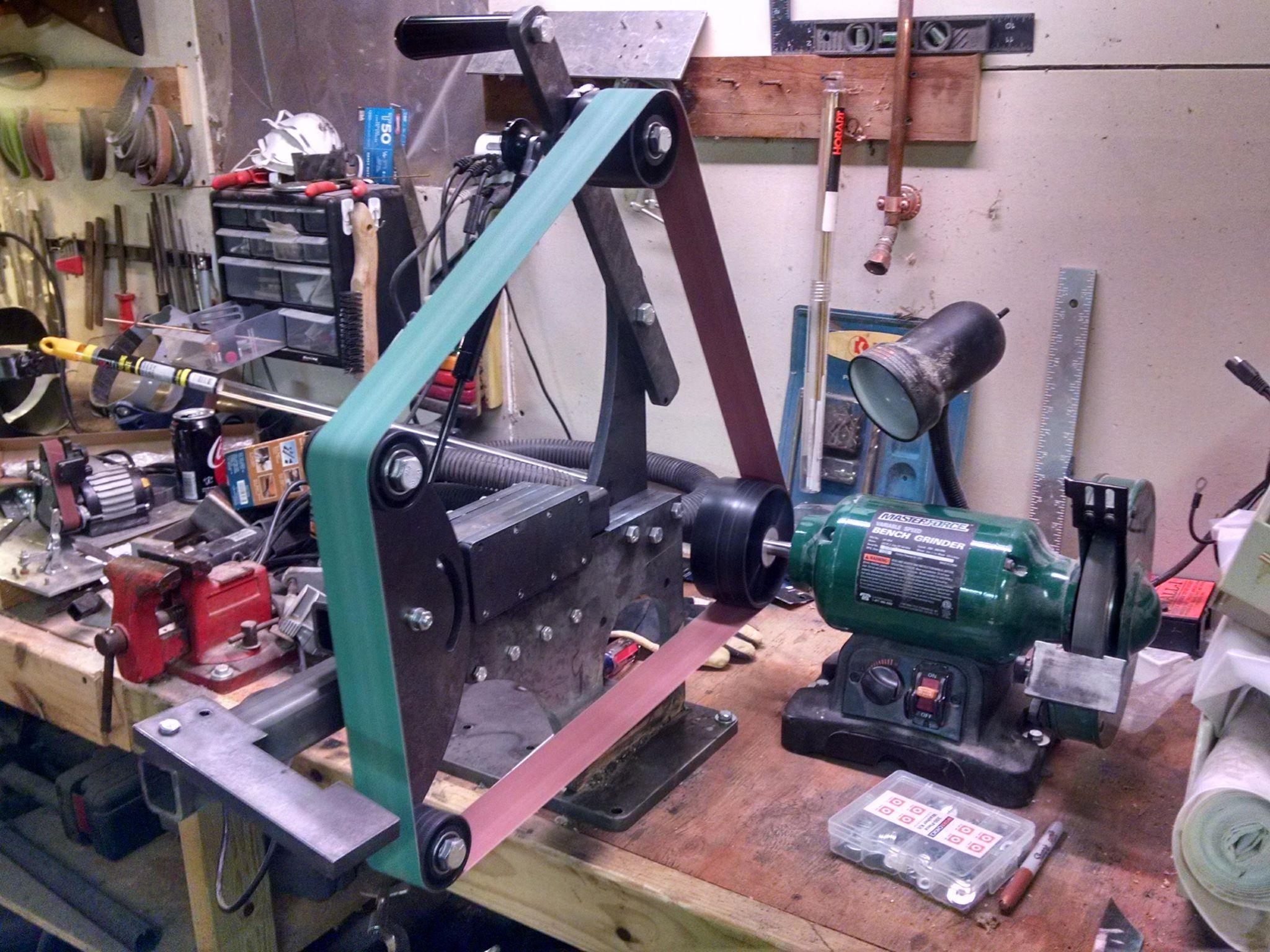Admirable 2X72 Belt Grinder Hot Work Bladesmiths Forum Board Machost Co Dining Chair Design Ideas Machostcouk