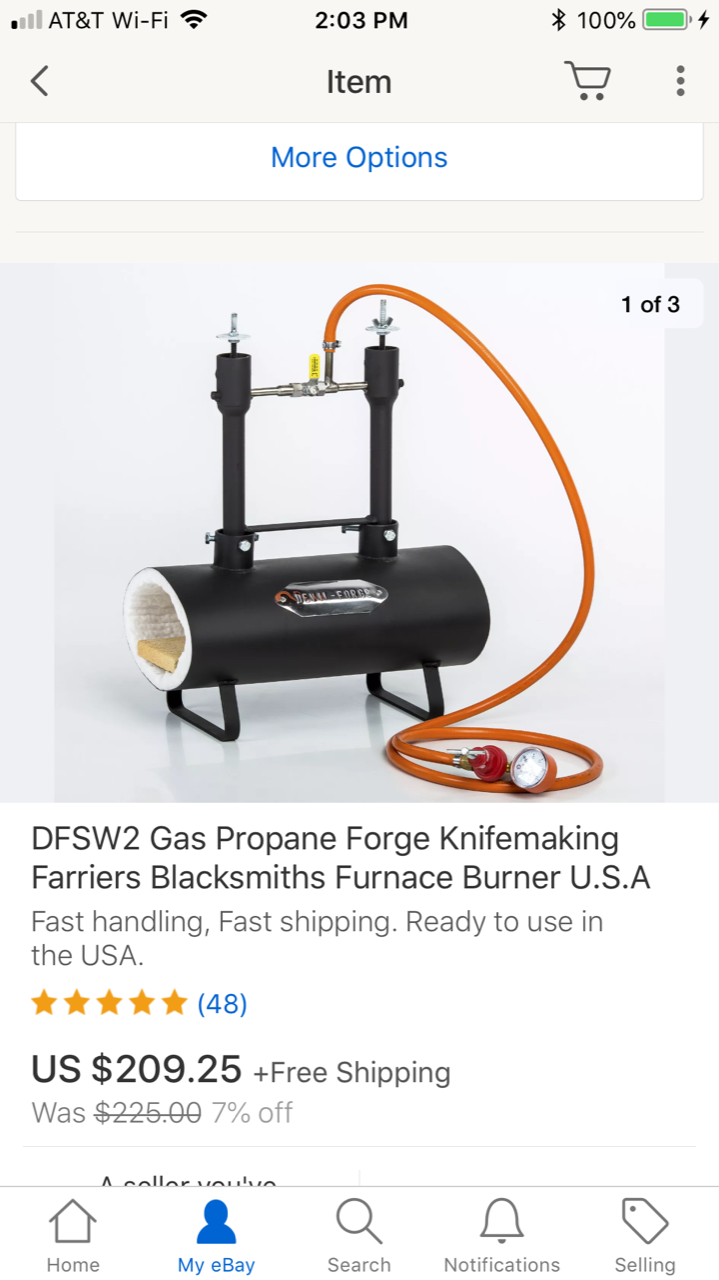 Bought The Devils Forge 2 Burner For 20925 Beginners Place Welding Diagram