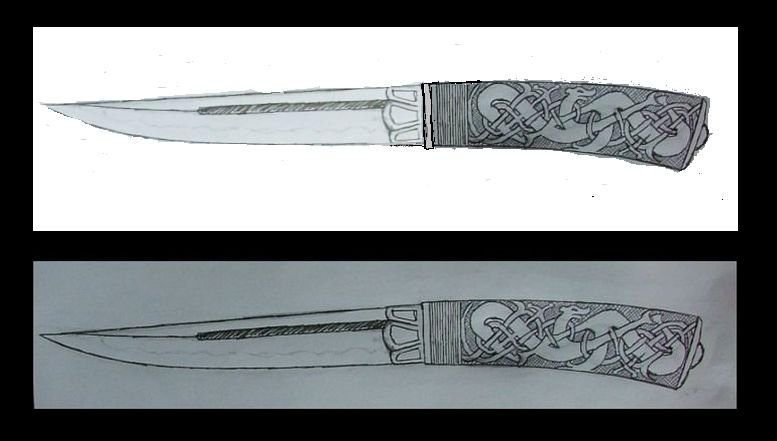 viking knife - Design and Critique - Bladesmith's Forum Board